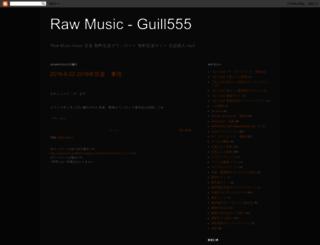 rawmusic-guill666.blogspot.com screenshot