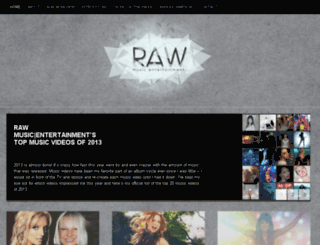 rawmusicent.com screenshot
