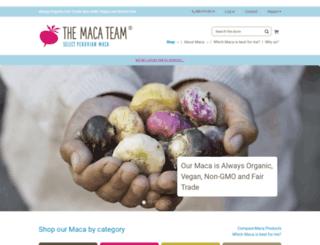 raworganicmaca.info screenshot