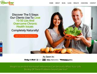 rawsomehealthy.com screenshot