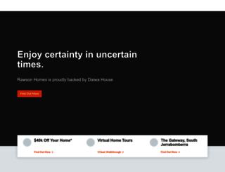 rawsonhomes.com.au screenshot