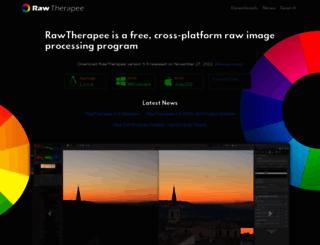 rawtherapee.com screenshot