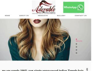 rawvirginindianhair.com screenshot