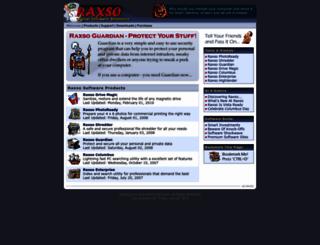 raxso.com screenshot