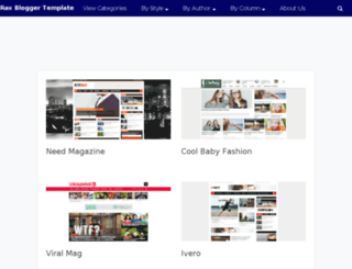raxtemplates.com screenshot