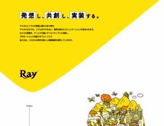 ray.co.jp screenshot