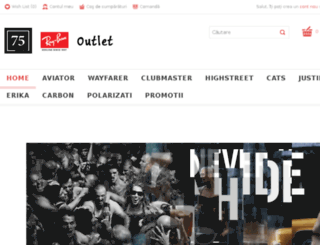 rayban-outlet.ro screenshot