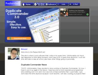 rayburnsoft.net screenshot