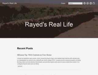 rayed.com screenshot