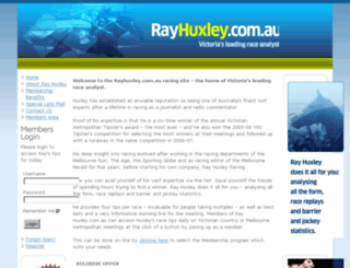 rayhuxley.com.au screenshot