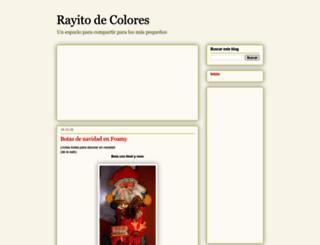rayitodecolores.blogspot.com screenshot