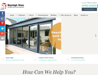 rayleighglass.com screenshot