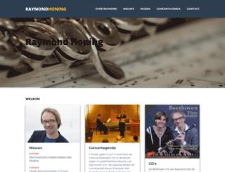 raymondhoning.com screenshot
