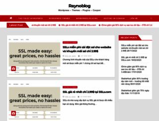 raynoblog.com screenshot