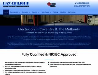rayoflightes.com screenshot