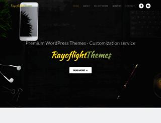 rayoflightthemes.com screenshot