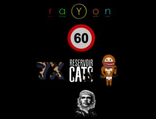 rayon.com.au screenshot