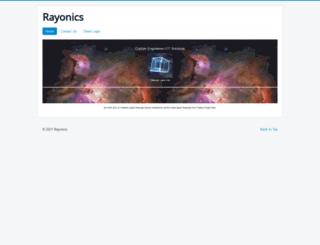 rayonics.com screenshot