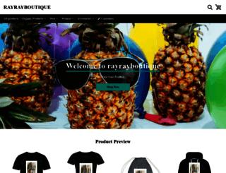rayrayboutique.com screenshot