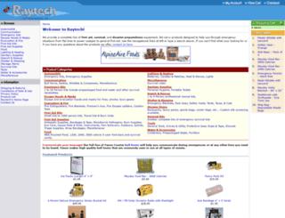 raytechcatalog.com screenshot