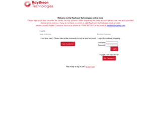 raytheonestore.corpmerchandise.com screenshot