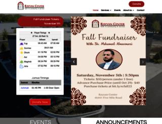 rayyancenter.org screenshot