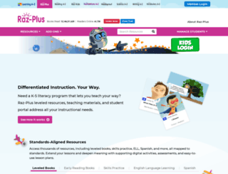 raz-plus.com screenshot
