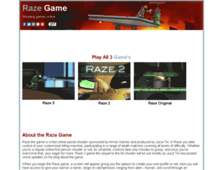 razegame.com screenshot