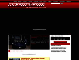 razine.com screenshot