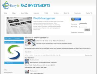 razinvestment.easyfe.com screenshot