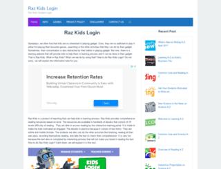razkidslogin.net screenshot