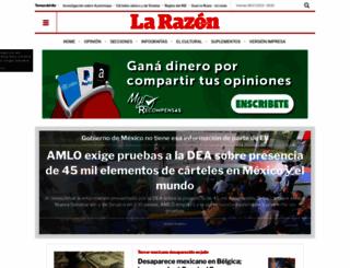 razon.com.mx screenshot