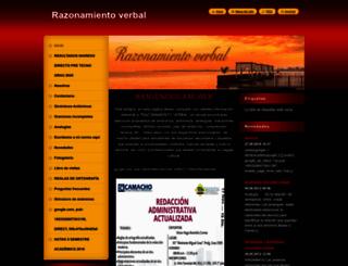 razonamientoverbalpractico.webnode.es screenshot