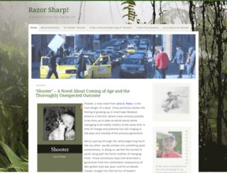razorsharptales.wordpress.com screenshot