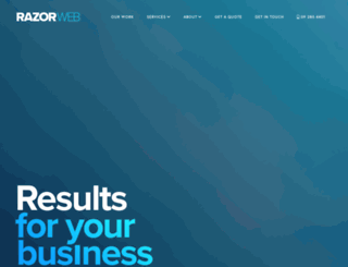 razorweb.co.nz screenshot
