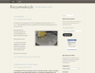 razzamadazzle.wordpress.com screenshot