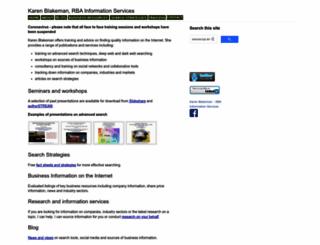 rba.co.uk screenshot