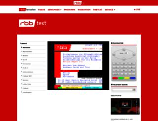 rbbtext.de screenshot