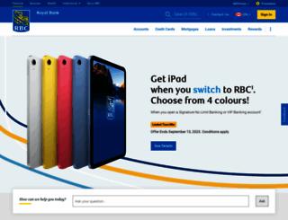 rbcroyalbank.com screenshot