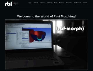 rbf-morph.com screenshot