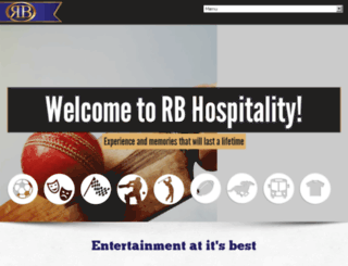 rbhospitality.co.za screenshot