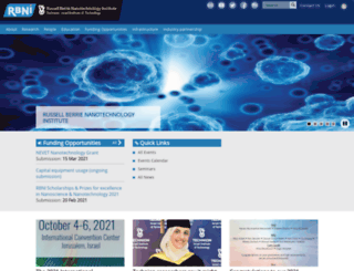 rbni.technion.ac.il screenshot