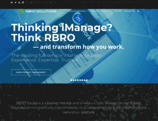 rbrosolutions.com screenshot