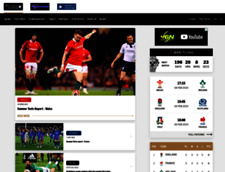 rbs6nations.com screenshot