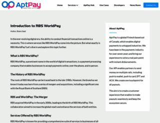 rbsworldpay.com screenshot