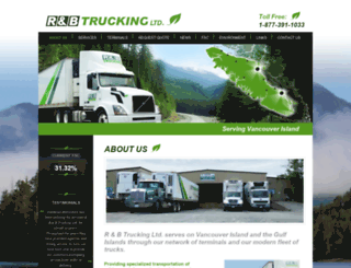 rbtrucking.ca screenshot