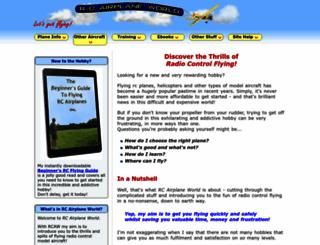 rc-airplane-world.com screenshot