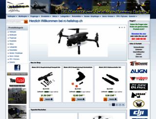 rc-helishop.ch screenshot