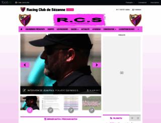 rc-sezanne.footeo.com screenshot