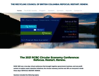 rcbcconference.ca screenshot